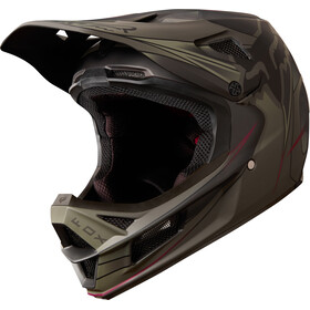 Fox Rampage Pro Carbon Kustom Helmet Men fatigue/black